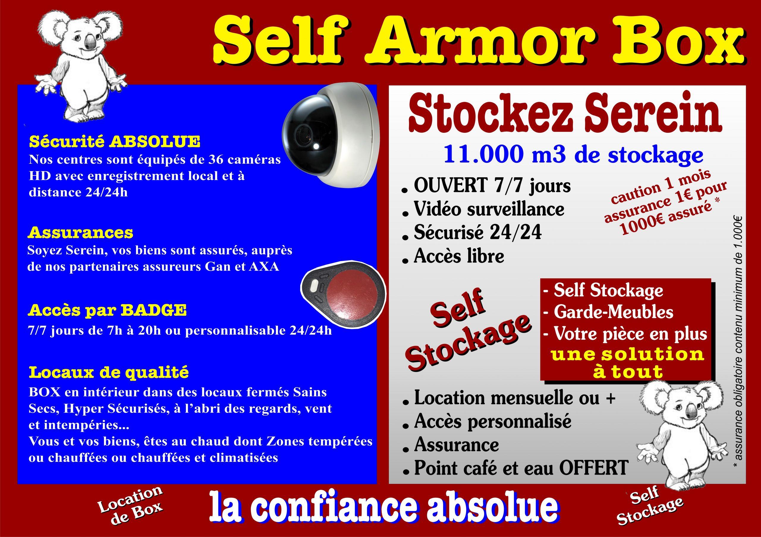 À propos de Self Armor Box
